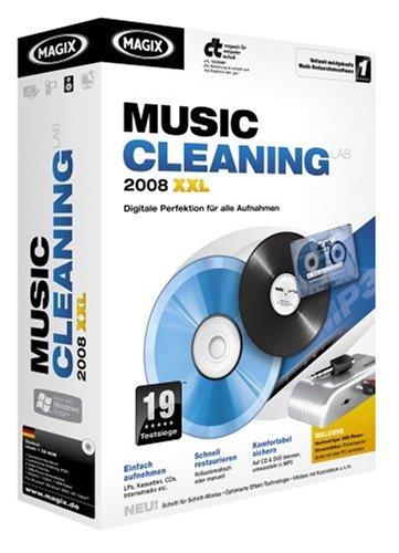 Preisvergleich Produktbild MAGIX Music Cleaning Lab 2008 XXL