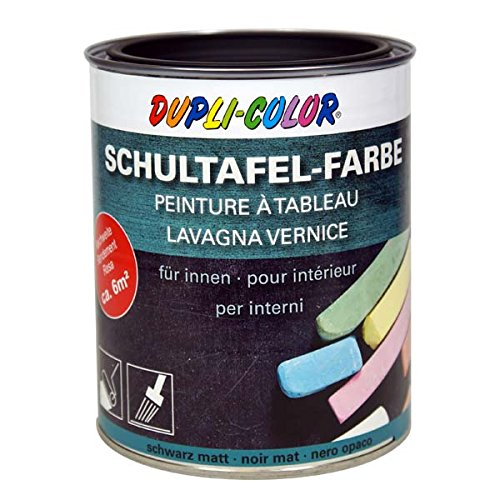 Dupli-Color 368110 DC Schultafelfarbe,750 ml, Schwarz
