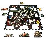 Disney Original Pixar Cars 17 Piezas 3D Puzzle Mate/Alfombra/Alfombrilla/Alfombra de Juegos 93 x 93 X 1 cm Nuevo