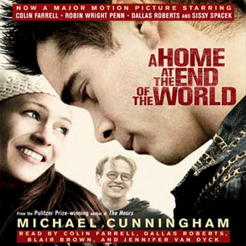 A Home at the End of the World  audiobook cover art