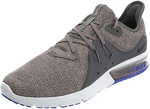 Nike Men's Air Max Sequent 3 Dark Grey/Black - Moon Particle Ankle-High Running Shoe 9.5M