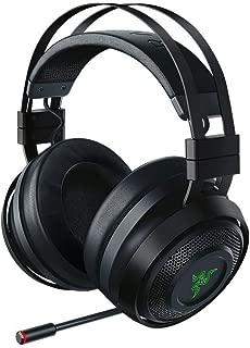 Razer Nari Ultimate Wireless 7.1 Surround Sound Gaming Headset: THX Audio & Haptic Feedback - Auto-Adjust Headband - Chroma RGB - Retractable Mic - For PC, PS4, Xbox One (Renewed)