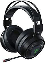 Razer Nari Ultimate Wireless 7.1 Surround Sound Gaming Headset: THX Audio & Haptic Feedback - Auto-Adjust Headband - Chroma RGB - Retractable Mic - For PC, PS4 (Renewed)