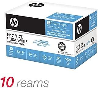 HP Office Paper, 20Lb, 92 Bright, 8 1/2