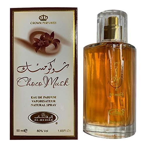 Schoko Moschus arabisch Parfüm spray - 50ml von Al Rehab