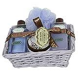 Gloss - caja de baño, caja de regalo para mujeres - baño de la cesta FLORALIA