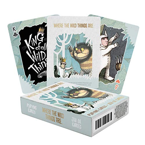AQUARIUS Where The Wild Things are Playing Cards, Multicolor (52702)
