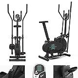 We R Sports Deluxe 2-in-1 Attraversare Allenatore & Esercizio Bici Fitness Cardio Allenamento con Sede