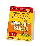 LKB-S10 CreativaMente, Libro Gioco, BLUK Non Vedo l'Ora di Andare alla Scuola Materna, Gioca con Gli Oggetti Familiari al Bambino