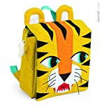 Janod - Mochila, diseño tigre (J07702)