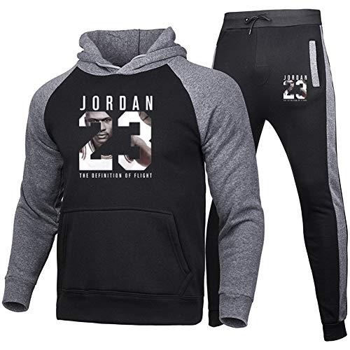 Z/A Bulls Chicago # 23 Conjuntos De Traje De Chándal para Hombre, Sudadera Y Pantalones para...