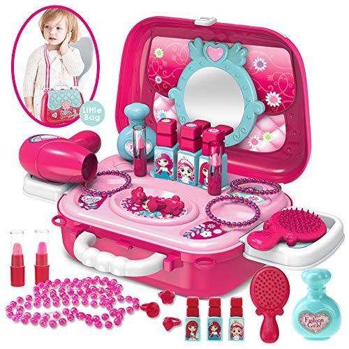 Buyger Maletin De Maquillaje Niñas Juguete Belleza y...