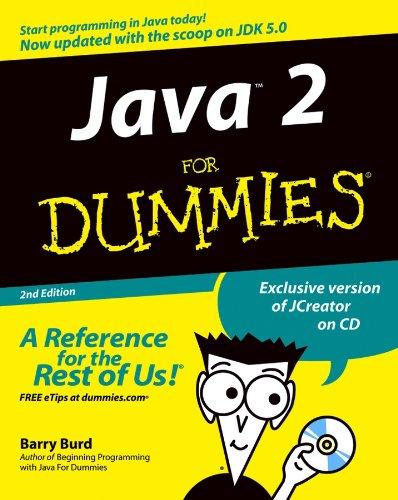 Java 2 For Dummies (English Edition)