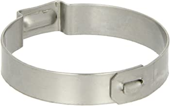 Oetiker 15500020 Stainless Steel Hose Clamp with Mechanical Interlock, One Ear, Clamp ID Range 30 mm (Closed) - 33.1 mm (Open) (Pack of 25)