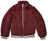 Jessica Simpson Girls' Big Fashion Jacket Coat, Burgundy, 14/16