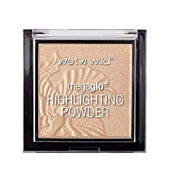 MEGA GLO HIGHLIGHTER: This pressed powder highlighter helps you achieve a luminous glow. Buttery, buildable formula melts onto the skin for a weightless feel & effortlessly blended application. GLOW AHEAD: Formulated with micro-fine pearls, this high...