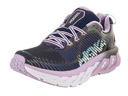 HOKA ONE ONE Womens Arahi Medieval Blue/Lavender Running Shoe - 6 M