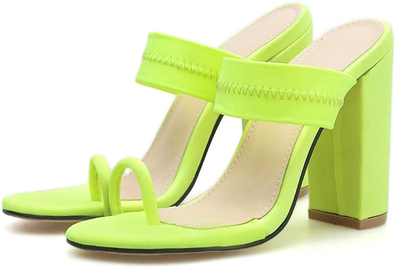 Summer Flip Flop Buckle Hollow Slides Thin High Heels Slippers Women Sexy Buckle Strap Pumps Sandals