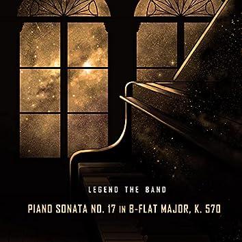 Piano Sonata No. 17 in B-Flat Major, K. 570