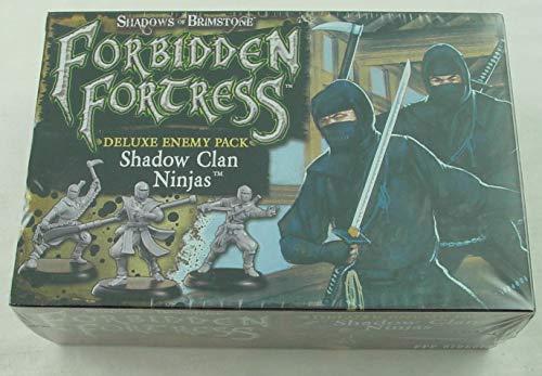 Flying Frog Shadow Clan Ninja – Deluxe Enemy Pack - Shadows of Brimstone Exp