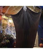 ATROPOS هالوين ديكور مخيف شنقا الشبح دعائم هالوين معلقة الهيكل العظمي تحلق الشبح للبار السوبر ماركت ساحة في الهواء الطلق داخلي