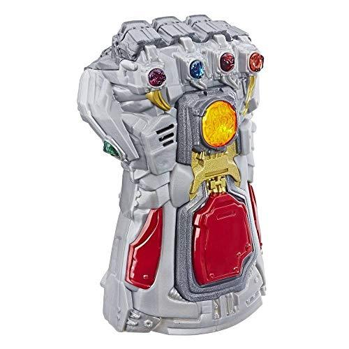 Brinquedo Marvel Manopla Thanos Eletrônica, Avengers, Dourada