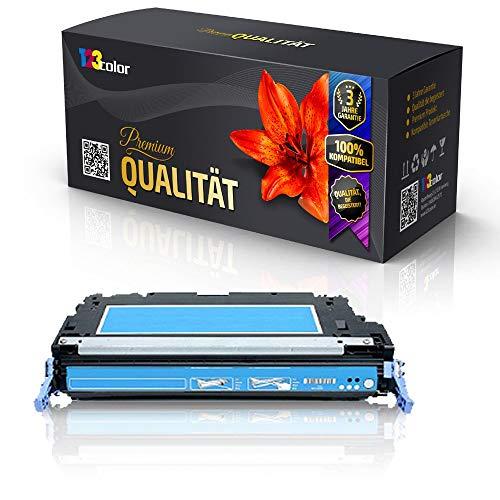 Print-Klex Alternative Tonerkartusche für HP Color LaserJet 3800 DTN Color LaserJet 3800 N Color LaserJet 3800 Series Q7581 A Cyan