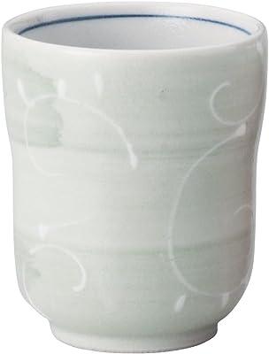 山下工芸 湯呑み 磁器 φ7.3×8.3cm(230cc) 一珍唐草湯呑 大 15025240