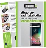 dipos I 2X Schutzfolie matt kompatibel mit Motorola Moto G4 (2016) Folie Bildschirmschutzfolie