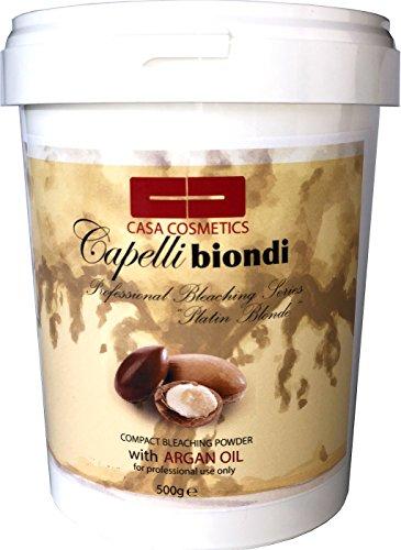 Capelli Biondi - Polvo decolorante con aceite de argán (500 g)