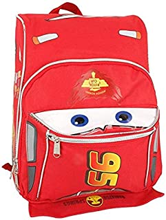 Cars Lightning McQueen Shape Toddler Small 12 inches Backpack