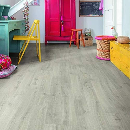 Suelo laminado Quick-Step Eligna Roble Newcastle Gris (EL3580)