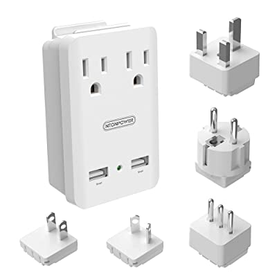 World Travel Adapter Kit - NTONPOWER Internatio...