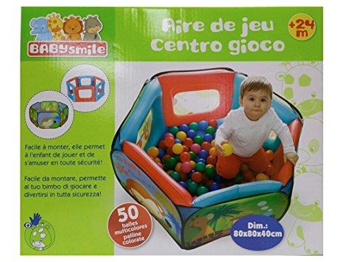 giochi preziosi rdf50969 baby smile - piscinetta con 50 palline