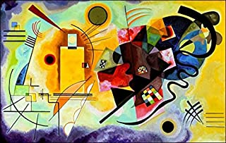 1art1 Posters: Wassily Kandinsky Poster Art Print - Yellow Red Blue (35 x 24 inches)