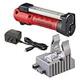 Streamlight 74851 Strion Switchblade Rechargeable Multi-Function Compact Work Light with 120V/100V AC 1 Holder Charger, Red