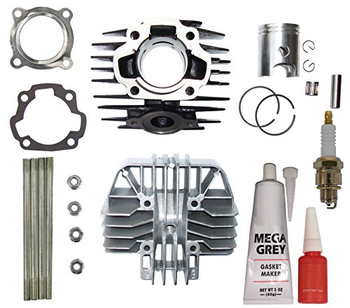 ZOOM ZOOM PARTS CYLINDER TOP END KIT FITS YAMAHA PW 80 PW80 Set Top End 1983 1984 19851986 1986 1987 1988 1989 1990 1991 1992 1993 1994 1995 1996 1997 1998 1999 2000 2001 2002 2003 2004 2005 2006 Bike