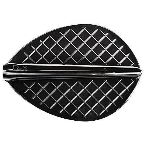 Cosmo Darts Flights v Series d-3 Black