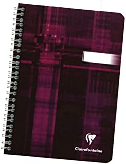 Clairefontaine Classic Wirebound Notebooks 5 4/5 in. x 8 1/4 in. ruled 90 sheets,colors may vary