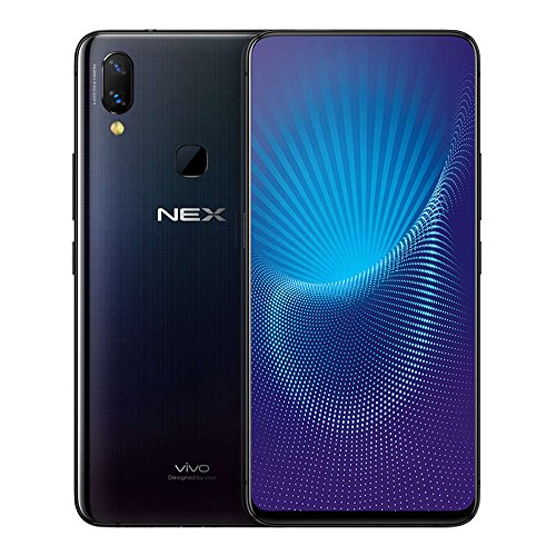 Vivo Nex A 6GB+128GB 6.59 Inch Ultra FullView Screen Fast Charge 4G LTE Smartphone Without in-Display Fingerprint Scanning (Black)