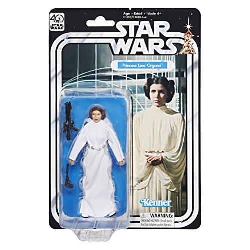 Star Wars Princess Leia Organa Action Figure The Black Series 40th Anniversary