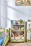 Fantasy Fields Dinosaur Kingdom TD-0069A Estantería de Madera, Multicolor (Verde)