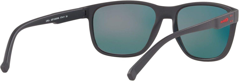 ARNETTE Men's An4257 Urca Rectangular Sunglasses