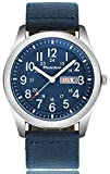 Youwen Luxury Brand Military Watches Men Quartz Analog Canvas Clock Sports Watches Army Military Watch (Blue)