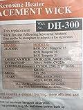 DuraHeat Kerosene Heater Replacement Wicks DH-300R iTEM #34410 Model # DH300 UPC# 013204003005