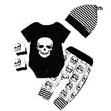 Juego de ropa de bebé para recién nacido (body, pantalones, gorro, manoplas)...