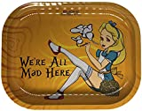 Smoke Arsenal Premium Small Rolling Tray'All Mad' 7' x 5'