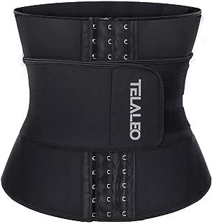 TELALEO Women's Neoprene Sweat Waist Trainer Corset Trimmer Belt for Weight Loss Body Stomach Shaper