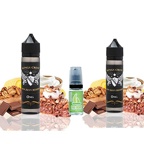 E Liquid Kings Crest Don Juan Reserve 50ml Pack 2