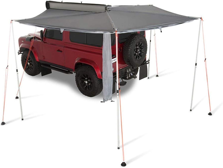 TFGY Auto-Markise, Auen-Campingzelt-Seitenmarkise, Fcherfrmiges Auto-Seitenzelt - Autoausrüstung